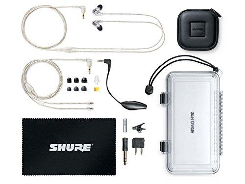 Shure SE846-CL-EFS High-End Sound Isolating In-Ear Monitor/Ohrhörer für die Bühne - 4
