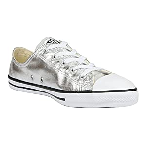 553462C|Converse CT AS Seasonal Metallics Dainty Ox Pure Silver|35,5