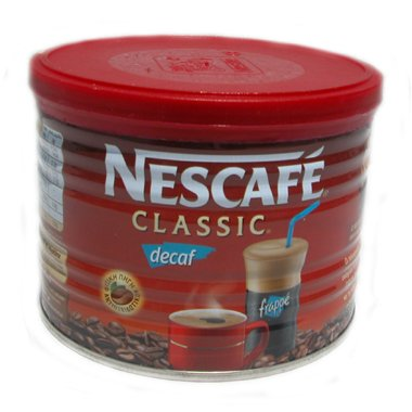 greco Nescafe Classic Decaf Instant Frappe Coffee 50 gr