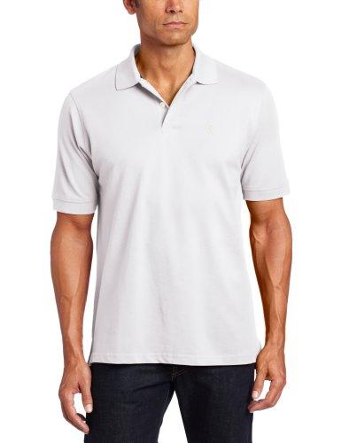 IZOD Herren Poloshirt, Durchgehend grün Seacrest Gr. XXXL Groß (US Größe), weiß (Polo-shirt Izod-baumwolle)