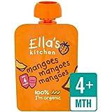 Cuisine Organique Mangue Lisse Purée De L'Étape 1 De 70G Ella - Paquet de 4