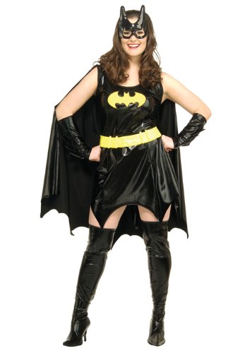Für Batgirl Kostüm Erwachsene Plus - Struts Fancy Dress Womens Plus Size Batgirl Kostüm