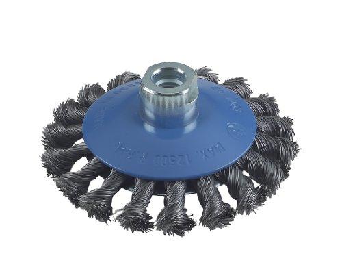 Bosch Zubehör 2608622011 Kegelbürste 100 mm, 0,5 mm, 12500 U/ min, 12 mm, 14