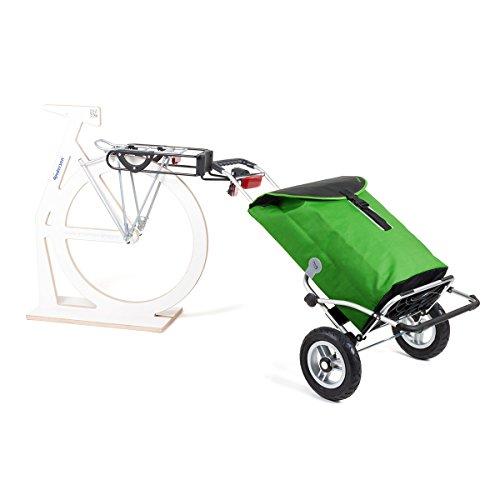 Offerta speciale: Andersen, Carrello portaspesa Royal XXL Floyd, ruote pneumatiche con gancio di traino per portapacchi | Borsa