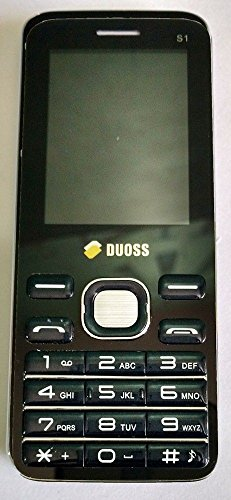 Duoss S1 Dual Sim | Music Player | FM Radio | Camera | Torch MP4 Mobile  Phone (Blue+Black)