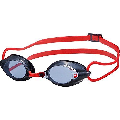 SWANS getönte Schwimmbrille SRX-N, Farbe:black red (BK/R)