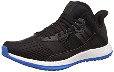 Adidas Men's Pure Boost Zg Trainer Black and Blue Running Shoes - 12 UK