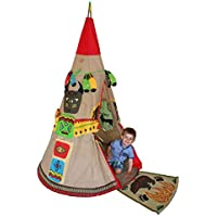 KiddyPlay Red Indian Teepee Playset