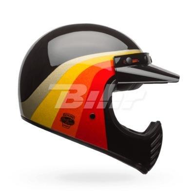 Bell Cascos Cruiser 2017moto 3adultos casco, química Candy, color negro/dorado, talla 2X S