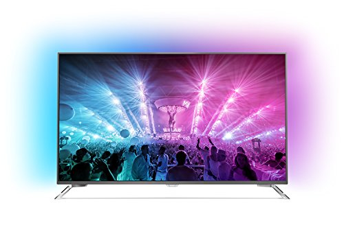 Philips 49PUS7101/12 123 cm (49 Zoll) Fernseher (Ambilight, 4K Ultra HD, Triple Tuner, Smart TV)