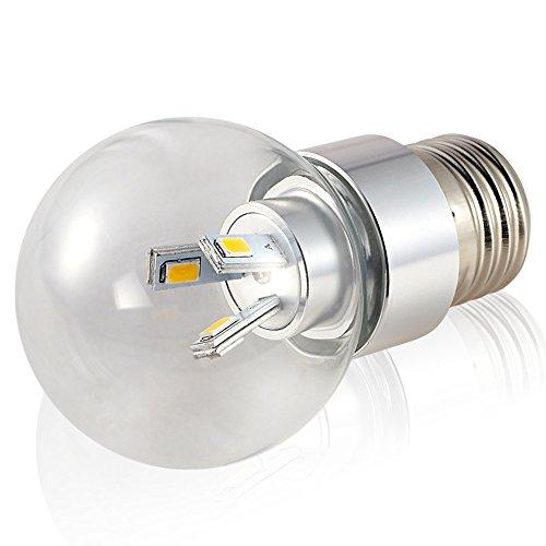 Lamp LU Ampoules LED E27 Ampoule à vis 3W5W Ampoule SMD Bea (Couleur : Blanc, Taille : 5W)