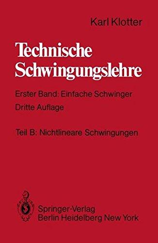 Teil B: Nichtlineare Schwingungen (Technische Schwingungslehre)