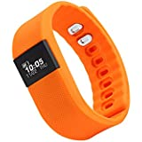 Zebronics Fit100 Fitness Band (Orange)