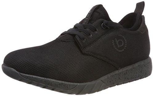 bugatti Herren 322543606969 Slip On Sneaker, Schwarz, 45 EU
