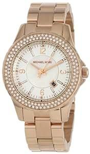 Michael Kors Damen-Armbanduhr XS Analog Quarz Edelstahl beschichtet MK5403