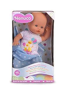Nenuco de Famosa- Recién Nacido Muñeco Infantil con Sonidos de Bebé (700015452)