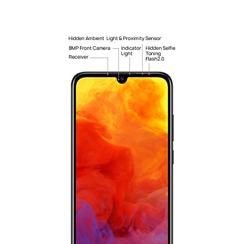 Huawei Y6 2019 32 GB 6.09 inch FullView Dewdrop Display Smartphone with 13 MP  Camera, Android 9.0 Sim-Free Mobile Phone, UK Version, Midnight Black Img 4 Zoom