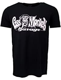 Gas Monkey Garage Dallas Texas T-shirt Black Official Licensed TV