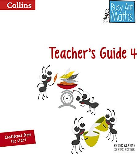 Busy Ant Maths - Teacher's Guide 4