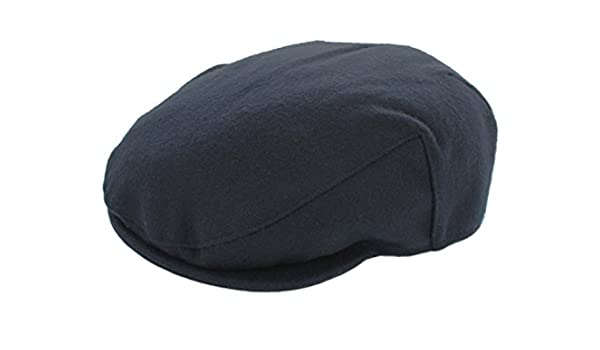 1573dd4c6 Failsworth Melton Flat Cap (X-Large 61cm) Navy: Amazon.co.uk: Clothing