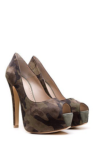 Ovyé - Scarpe peep toe Donna , Multicolore (multi colour), 38