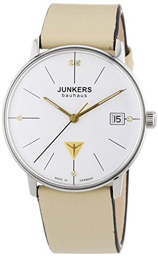 Junkers Women's Quartz Watch with Silver XS Bauhaus Analogue Quartz Leather 60735