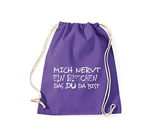 Shirtstown, Borsa tote donna Purple