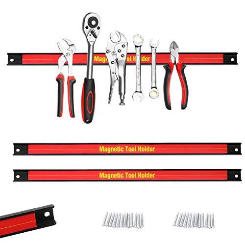 COSTWAY Magnetleiste Werkzeugleiste Magnet Werkzeughalter Halterung Werkzeug 3 x 46cm