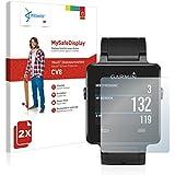 2x Vikuiti MySafeDisplay Screen Protector CV8 from 3M for Garmin Vivoactive