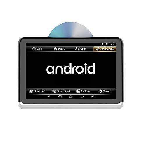 10,1-Zoll-Auto-DVD-Player mit WiFi, ultradünner HD-Kopfstützen-Art Auto-Monitor-Rücksitz im Auto-Unterhaltungssystem für Kinder mit HDMI USB SD (Usb-hdmi-dvd-player Mit Wifi)