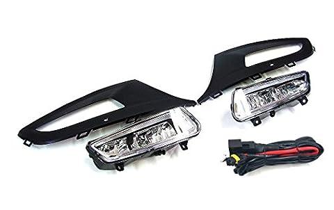 Front Bumper Nebel Licht Grill Lampen L & R für