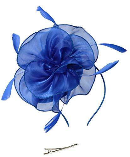 Feibao Fascinators Hut Damen Tea Party Stirnband Hochzeit Cocktail Blume Haarspange Derby ()