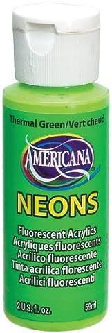 DecoArt Neon Amerciana Acrylics Paint, Thermal