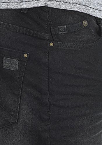 BLEND Grilitsch Herren Jeans-Shorts kurze Hose Denim aus hochwertiger Baumwollmischung Denim Black (76204)
