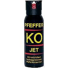 BALLISTOL - Profi Pfefferspray KO-JET - Inhalt: 100 ml - Sprühweite: bis zu 5 Metern - Ideal für geschlossene Räume