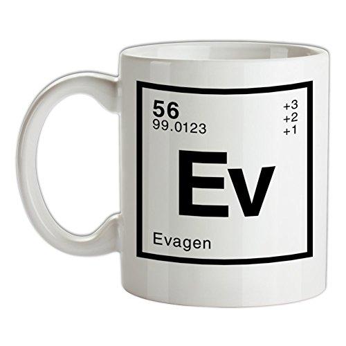 Eva Periodensystem - Bedruckte Kaffee- und Teetasse
