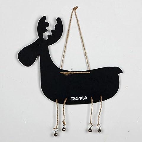 B & Y Animal Style Kreidetafel Label für Nachricht Board Schilder Type1