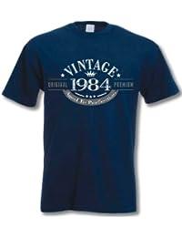1984 Vintage Year - Cadeau d'anniversaire 33 ans T-Shirt