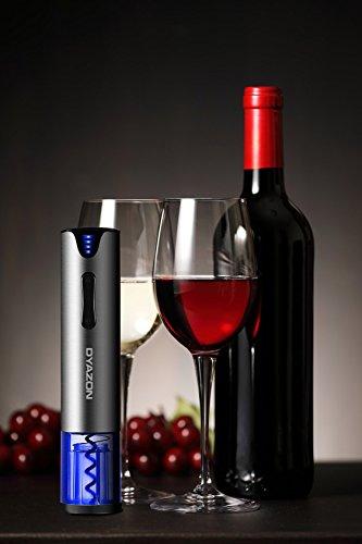 Dyazon Sacacorchos Electrico - Abridor de Vino Profesional Automático En Acero Inoxidable...