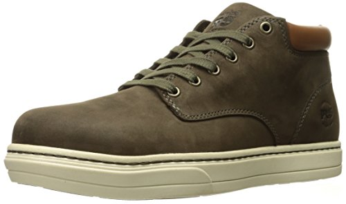 Mens Eh Slip (Timberland Pro Men's Disruptor Chukka Alloy Safety Toe Eh Industrial and Construction Shoe, Donkey Nubuck, 11.5 W US)
