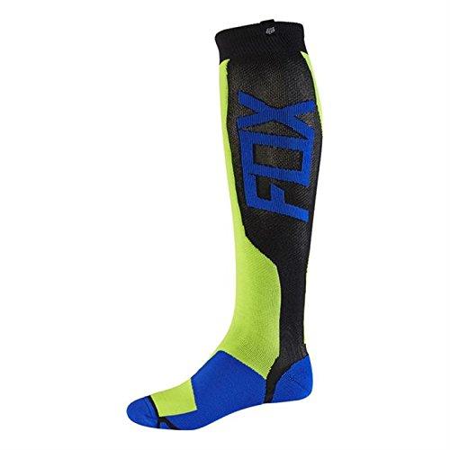 Fox 2017 Herren Motocross / MTB Socken - MX TECH - gelb: Größe Socken: L/XL