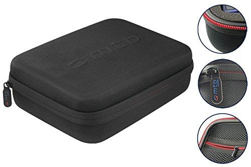 hutztasche (XL) für GoPro Hero 6 / Hero 5 / Hero4, Hero3(+) - Schwarz - Koffer Case Bag ()