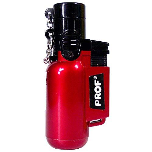 Jet Lighter - das Ultrakompakte Gasbrenner Feuerzeug h&aumllt jedem Sturm stand! Diverse Farben Wiederaufladbar! Torch Lighter