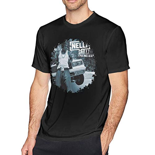 THsirtee Nelly Grillz Herren T Shirt Black S