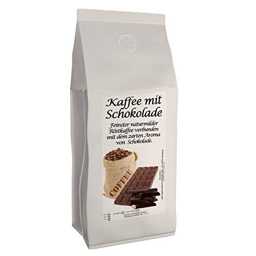 Aromakaffee - aromatisierter Kaffee Schoko 500 g gemahlen - Spitzenkaffee - Schonend Und Frisch In Eigener Rösterei Geröstet