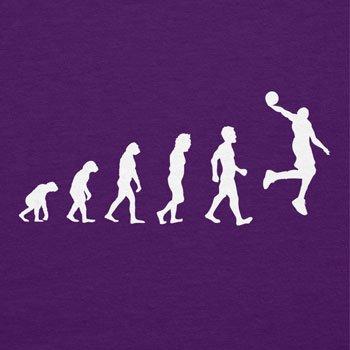 NERDO Basketball Evolution - Damen T-Shirt Violett