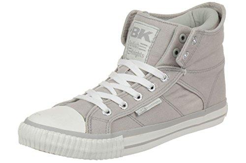 British Knights ROCO BK Damen Sneaker B35-3734-03 grau Textil grey (B35-3734-03)
