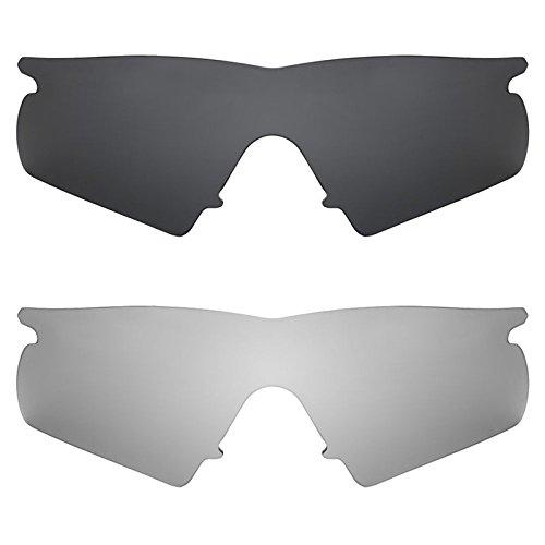 Revant Ersatzlinsen für Oakley M Frame Hybrid Polarisiert 2 Paar Kombipack K001