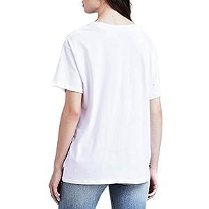 Camiseta Levis Boyfriend Blanca