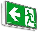 Notleuchte Notbeleuchtung Exit Notausgang Fluchtwegleuchte Notlicht Fluchtweg Rettungszeichenleuchte (Pfeil nach unten)